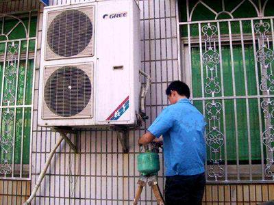 阿尔卡迪亚小区空调加氟